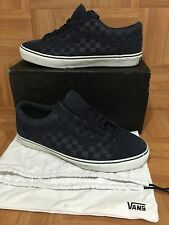 "RARE🔥 VANS Old Skool Syndicate ""S"" Blue Nights White Checkerboard 13 5890076"