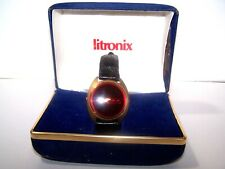 Vintage 1960s / 70s era, LITRONIS LED Wristwatch,new batteries, watch is running