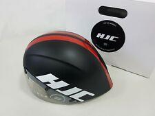 HJC Adwatt Aerodynamic 15Vents Bicycle TT Time Trial Helmet Size L 58-62cm Black