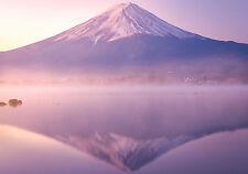 STUNNING MOUNT FUJI JAPAN SUNSET CANVAS #236 LANDSCAPE WALL HANGING PICTURE ART