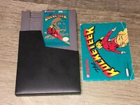 The Rocketeer w/Manual & Sleeve Nintendo Nes Cleaned & Tested Authentic