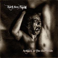 ANDI SEX GANG (Sex Gang Children) Achilles In The Eurozone SIGNED, postpunk goth