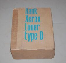 RANK XEROX TONER TYPE D