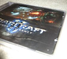 Starcraft II Collector Edition Soundtrack MUSIC CD (PC/Windows 10/8/Mac) 2 NEW