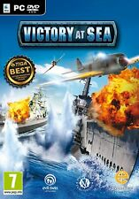 Victory at sea bataille navale avion bateau PC DVD jeu PC neuf new sous blister