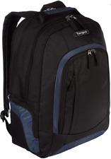 Targus Urban II Laptop Backpack Black & Blue TSB196 NWOT