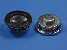 """2pcs New 1.5"""" inch 4Ohm 4Ω 3W Full Range Audio Speaker Stereo Woofer Loudspeaker"""