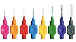 TePe Interdental Brushes all Colours/Sizes 1-5 Packs of 8 Brushes