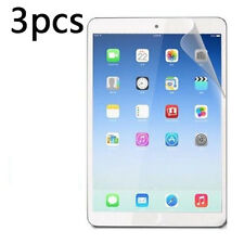 3X HD Clear Screen Protector Shield Film For iPad Air 2 iPad 6 ipad air  W8 PL