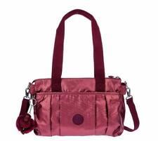 BNEW Kipling Divna Medium Crossbody Shoulder Bag, Berry Metal