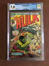 Incredible Hulk #180 CGC 7.0 Off White Pages 1st Wolverine