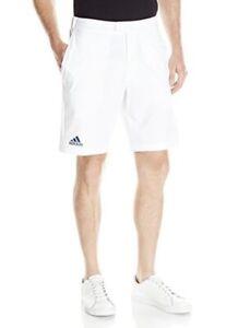 Adidas Performance Mens L Barricade Bermuda Golf Tennis Shorts White 34/36 Waist