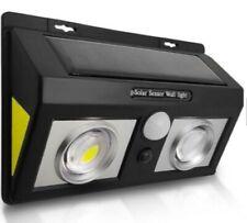 LED Solar PIR Motion Sensor Garden Outdoor Security Wall Light Wireless Light