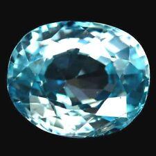 TOP ZIRCONE : 3,17 Ct Natürlicher Blau Zirkon aus Kambodscha