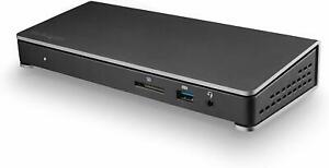 StarTech Thunderbolt 3 Dock with Dual 4K Monitor Display Port 85W Power Delivery