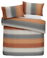 Fusion Duvet Cover and Pillow Case 52 Polyester / 48 Cotton Single Spice