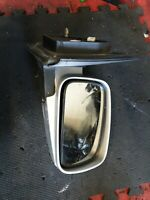 KIA SORENTO 2003-09 DRIVER DOOR MIRROR SILVER CHROME NS MK1 WING #6519