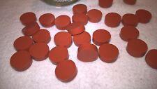 28 chromacol chromseal 9001 red Septa, GC, 9.5mm, HT-9.5, High Temp