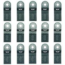 15 x Mix Blades for Fein Multimaster Bosch Ryobi Challenge Multitool Multi Tool