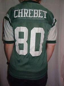 New York Jets Wayne Cherbet 1995 Starter Green Jersey Youth Medium