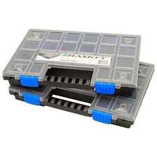 2x XL Organizer Sortimentskasten Kleinteilemagazin Schraubenbox Werkzeugkasten