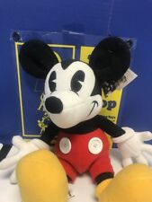 "Walt Disney World 100 Years of Magic Plush Mickey Mouse 15"" White Buttons"