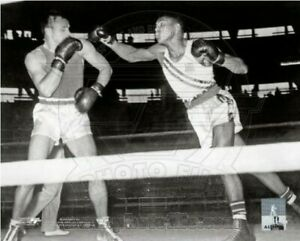 "Muhammad Ali Olympics Boxing Ring Action Photo (Size: 8"" x 10"")"