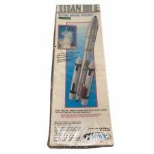 Vintage Estes Titan III Model Rocket Kit # 2019 Unopened Sealed