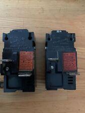 2 Pushmatic 31120 1-Pole 20A Circuit Breaker Bulldog Electric