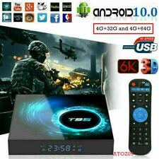 T95 Android 10.0 TV Box 32GB/64GB Quad Core HD 6K HDMI WIFI 5G Media Player UK