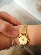 Rare Timex conic escapement girls Ladies Slim Watch