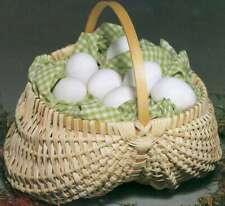 """Blue Ridge Basket Kits Egg Basket 7""""X7"""" 752303126689"""