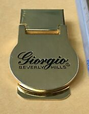 Clip New Old Stock Giorgio Beverly Hills Gold Money