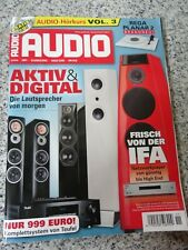 Audio HIFI Zeitschrift Heft 11/2016 ohne CD