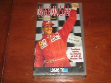 MICHAEL SCHUMACHER di Oscar Orefici // LOGOS TV SP03MS96  VHS NEW