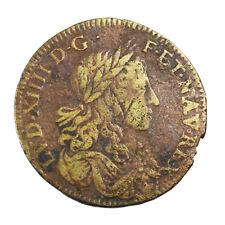Jeton Louis XIV Les coeurs fidèles frappé vers 1660