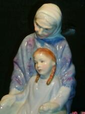 "Royal Doulton Figurine ""Granny's Heritage"" #1588, Excellent Condition, 7.5""H"