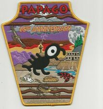 PAPAGO LODGE 494 65TH Anniversary Jacket Patch