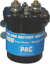 Pac PAC-500 Durable 500Amp Battery Isolator Relay W/ Maximum Current Transfer