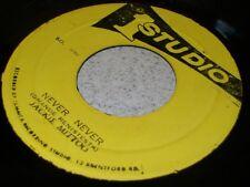 """7"""" Jamais plus jamais; Jackie Mittoo; JA original Studio 1 Coxsone-MP3 LISTEN"""
