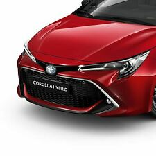 Genuine Toyota Corolla 2019 Front Bumper Garnish Black Pw401-02000-ca