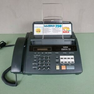 Brother IntelliFAX 750 Home/Office Plain Paper Fax