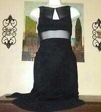 NWT BCBGeneration Women's Black Dress With Side Slits Size 4 Ret$148
