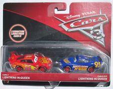Disney Pixar Cars 3 Lightning McQueen & Fabulous Lightning McQueen 2-Pack