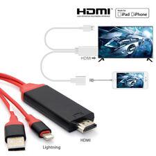 CAVO ADATTATORE VIDEO LIGHTNING USB HDMI HDTV TV PER IPAD IPHONE 7 6 5S X PLUS