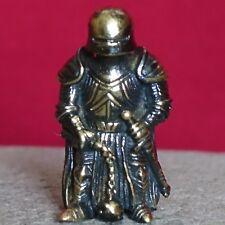 Warrior BEAD PARACORD BRACELET KNIFE LANYARD BEADS HANDCAST COLLECTIBLE BRONZE