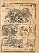 Humour Kronprinz Poilus Tranchées Feldgrauen Bremen Boches WWI 1916