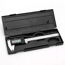 "150mm 6"" LCD Digitaler Messschieber Digitale Schieblehre Etui mit Kasten 9717"