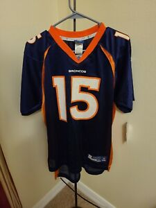 NFL Boys sz XLarge Denver Broncos Football Jersey #15 Tim Tebow V-neck New Tags