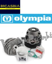 1658 CILINDRO MOTORE OLYMPIA DM 55 CC 100 102 VESPA 50 SPECIAL R L N PK S XL